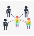 search gay love boy vector image vector image