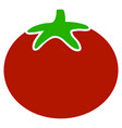 tomato vegetable flat icon vector image