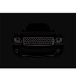 black car vector image