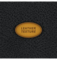black leather seamless pattern