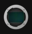 full frame image sensor vector image vector image