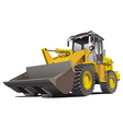 loader front vector image vector image