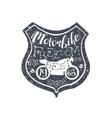 Motorbike Freedom Vintage Emblem vector image vector image