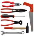 tools kit vector image