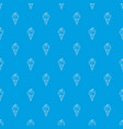 wafer ice cream pattern seamless blue vector image vector image