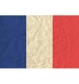 France paper flag vector image
