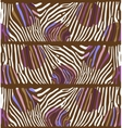 Background with colorful Zebra skin vector image
