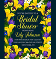 Creative template for bridal shower