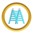 Ladder icon vector image vector image