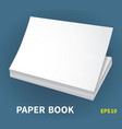 mock-ups of paper books-12 vector image vector image