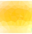Mosaic Yellow Background vector image