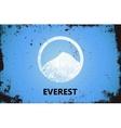 Mountain Logo design Everest logo Mountain vector image