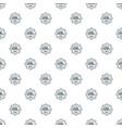 school bus pattern seamless vector image vector image