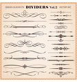 Design elements dividers and dashes