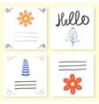 card templates vector image