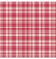 checkered fabric tartan textile seamless vector image vector image