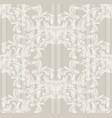damask old pattern ornament decor baroque vector image vector image