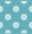 divide pattern seamless blue vector image