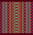 festive geometric seamless pattern for fabric vector image vector image