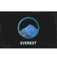 Mountain Logo design Everest logo Mountain vector image vector image