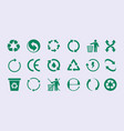 renew circles diversity images recycle round vector image