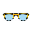 sunglasses fashion style vector image vector image