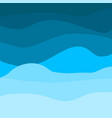 waves nature background eps10 vector image
