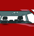 car interior without people vector image vector image