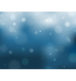 Cold rainy abstract background vector image vector image
