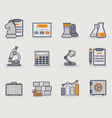 Development line icons copy vector image vector image