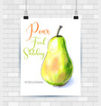 hand drawn painting on white background vector image
