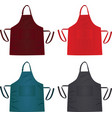 kitchen colorful apron vector image