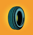car tire one vector image