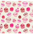 Cupcakes Pattern Birthday Card