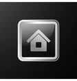 home icon background vector image vector image