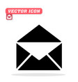 letter icon white background image vector image