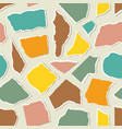 pattern with pieceis paper vector image vector image