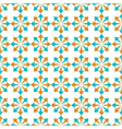 seamless geometric pattern of abstract elements vector image vector image
