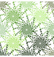 Half tone pattern with dots in green - monochrome