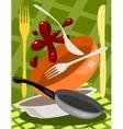 Kitchen Utensil vector image vector image
