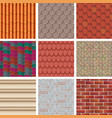building background wall texture vector image