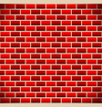brickwall tileable brick background vector image