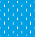 candle pattern seamless blue vector image