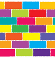 colored wall vector image