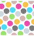 geometric seamless pattern hand drawn vector image
