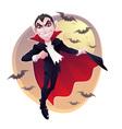 Mr Vampire vector image