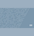 rain pattern it s rainy season background vector image vector image