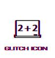 whiteboard icon flat vector image vector image