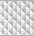 3d paper pyramids seamless pattern vector image vector image