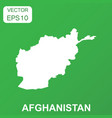 afghanistan map icon business concept afghanistan vector image vector image